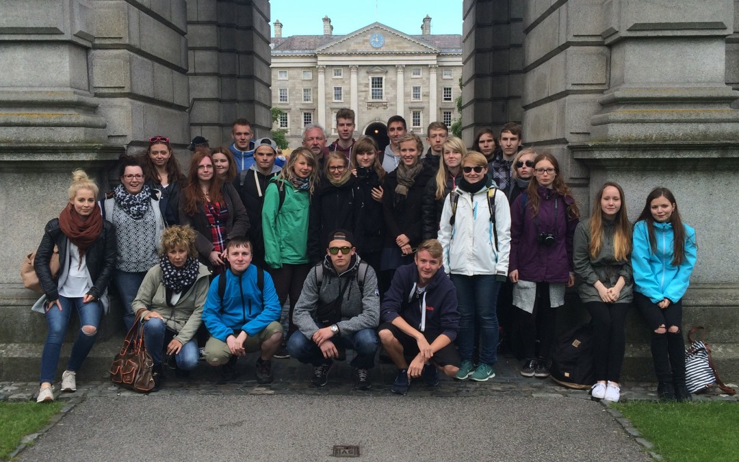 Dublin excursion with our German students